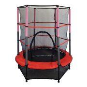 Capetan®Kiddy Jump 140cm trampolin sa zaštitnom mrežom i donjim sigurnosnim pokrivačem (suknjom)
