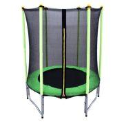 Capetan®Garden Jump Premium trampolin sa W nogama, promjer 140cm za vanjsku/unutarnju  uporabu, s pocinčanom konstrucijom, i jednostavno montirajućom zaštitnom mrežom.