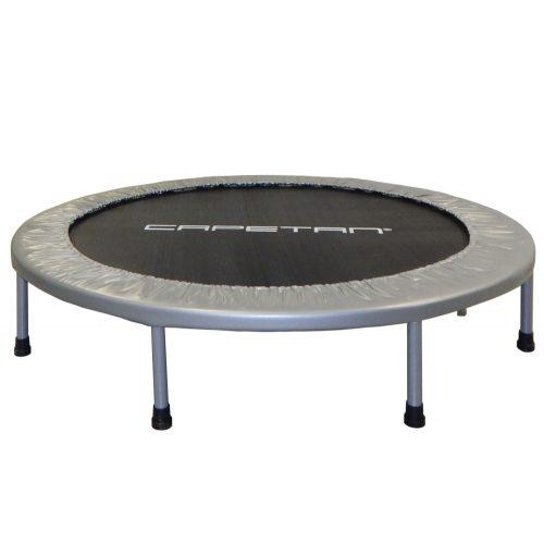 Capetan® Fit Fly Silver 122cm sobni trampolin , 100 kg nosivosti , zaštita opruga u premium izvedbi
