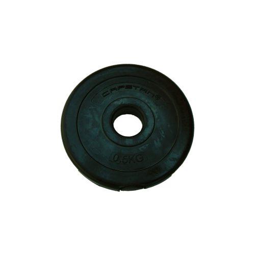 Capetan® 0,5Kg Vinil utegni disk  težina utegnog diska 0,5kg - cementirani utegni od 0,5kg ( 1 komad utegni disk)