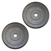 Capetan® 2,5Kg Vinil težina diska je 2,5kg - 2,5 kg cementni utegni disk ( 1 komad)