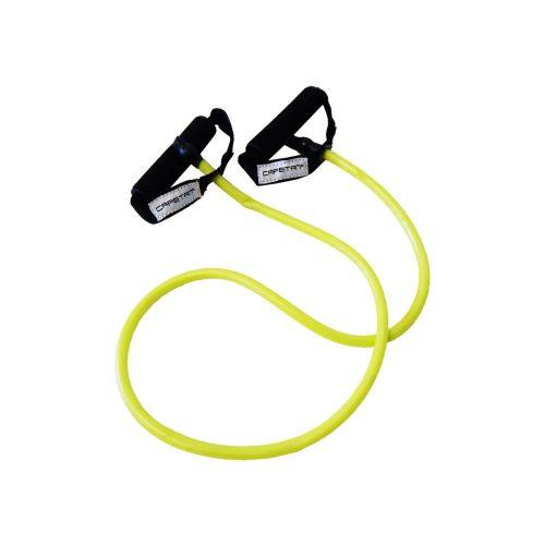 Capetan® Elastična  fitness tube s mekanim pjenastim držanjem.  SREDNJE JAČINE.