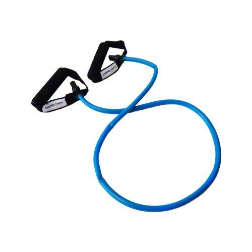 Capetan® Elastična  fitness tube - gumeno uže -  s mekanim pjenastim držanjem.  Snažne jačine