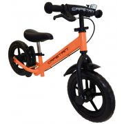 """Capetan®Neptun Narančasta bicikla/guralica sa kočnicom, blatobranom i zvončićem sa 12"""" kotača - dječja bicikla bez pedala."""