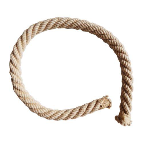 Koračajući  balansirajuće konopljino uže 2 m za gimnastičke vježbe