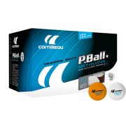 Cornilleau Pro 72 komada pingpong lopte za vježbanje (narančasta)