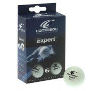 Cornilleau Expert White 6 komada pingpong loptica  (narančasta)
