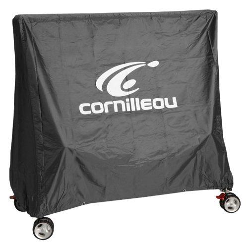 Cornilleau Premium pokrivalo za pingpong stolove u vanjskom prostoru u sivoj boji.