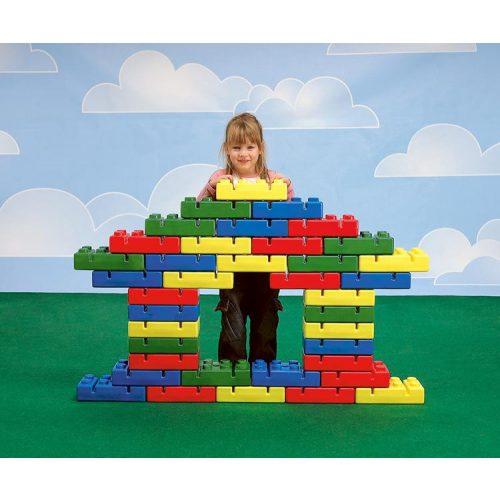 Građevinska opeka za psihomotoričke setove, 1 komad, za pričvršćivanje podnožja štapa i obruča za vježbanje