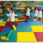 Predškolski set za balansiranje sa šarenim paletama, element za balansiranje u obliku mosta, pribor za vježbanje s preprekom