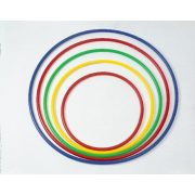 Okrugli obruč za gimnastiku, plastični obruč za gimnastiku 60 cm, hula hoop obruč