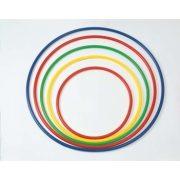 Okrugli plastični obruč za gimnastiku, ne mijenja oblik, čvrst, promjera 70 cm