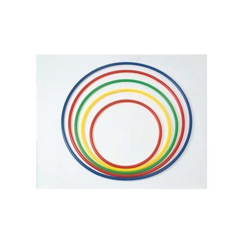Okrugli plastični obruč za gimnastiku, ne mijenja oblik, čvrst, promjera 80 cm