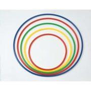 Okrugli plastični obruč za gimnastiku, ne mijenja oblik, čvrst,  promjera 90 cm