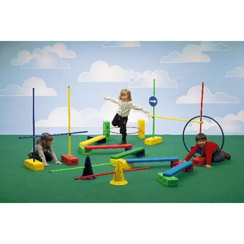 Aktivna igra, psihomotorički park za razvijanje pokreta, E komplet za razvijanje pokreta