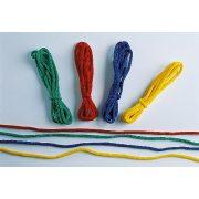 Uže za vježbanje ritmičke gimnastike, set od 4 komada dužine 2,5 metra. Razne boje