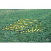 6-dijelni plastični set za prepreku, od elemenata visine 10,20,30,40,50,60 cm.