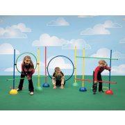 Tactic Sport Set za razvijanje pokreta, psihomotorički set od 39 elemenata, rekreacijski park