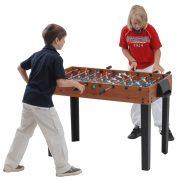 Capetan® Kick 50 Junior stol za stolni nogomet sa prijelaznom šipkom, stolni nogomet za djecu, sa fiksnim trokutastim nogama