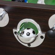 Capetan® Kick 400 extra čvrst stol za stolni nogomet  za odrasle, boja wenge (tamnosmeđi tonovi), s gumenim, nožnim priljepcima