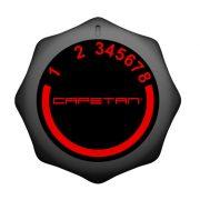 Ležeći bicikl Capetan® Fit Line X3.2 sa zamašnjakom od 7 kg, monitorom za prikaz otkucaja srca i držačem za tablet.  Kapacitet opterećenja: 110kg.