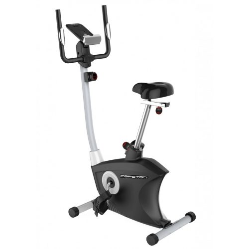 Sobni bicikl Capetan® Fit Line X5 sa zamašnjakom od 7 kg, monitorom za prikaz otkucaja srca i držačem za tablet.  Kapacitet opterećenja: 120kg.