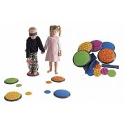 Gong senzorski diskovi set od 5+5komada, kamen za koračanje, senzor za dodir, B set