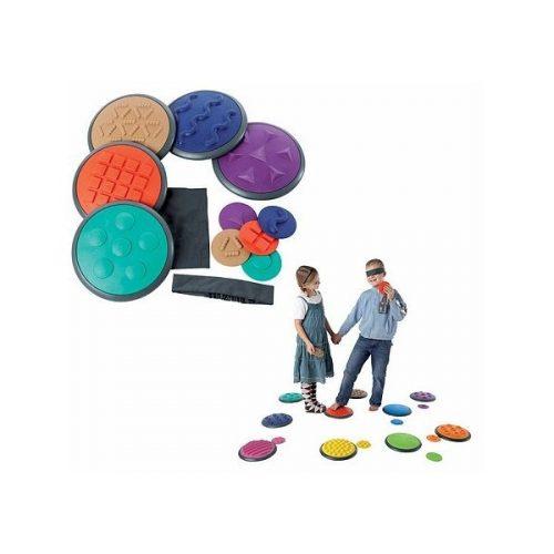 Gong senzorski diskovi set od 5+5komada, kamen za koračanje, senzor za dodir, A set