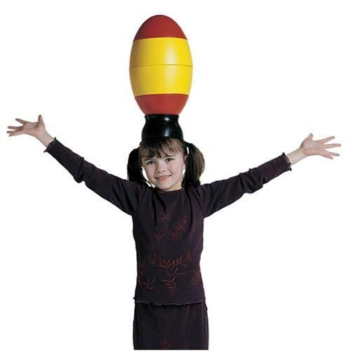 Jaje za balansiranje, sredstvo za balansiranje koje se može staviti na glavu – Gonge