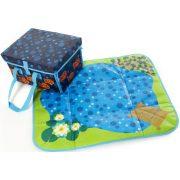 Akvarij tepih za igru sa ribicama – Gonge, služi i kao prijenosna torba/torba za igračke
