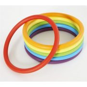 Activity ring serija od 24 komada – Gonge gumeni prsten, obruč za razvoj vještina