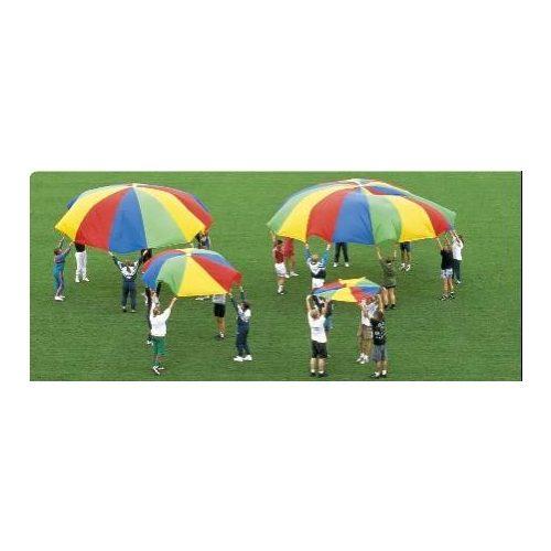 Csiribiri padobran 3,5 m, velika svilena tkanina sa 8 držača – Gonge za razvijanje pokreta