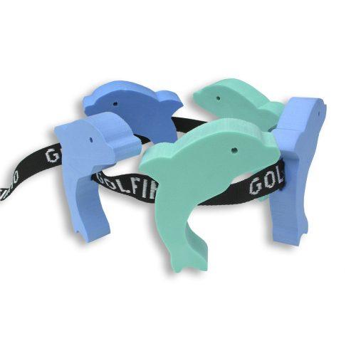Pojas za plivanje od 5 elemenata, figurica dupina, za djecu ispod 12 godina starosti, između 30-60 kg tjelesne težine