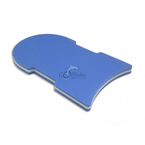 Daska za plivanje super velika veličina 49x28x4 cm, ergonomski dizajn, ekstra debela retifoam pjena pogodna za kožu