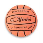 Golfinho Competition Fluo vaterpolo lopta, fluorescentna narančasta boja, No.4 ženska i juniorska natjecateljska vaterpolo lopta