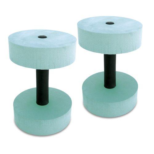 Aquafitness par bučica s okruglom glavom, promjera 15 cm, vodena bućica