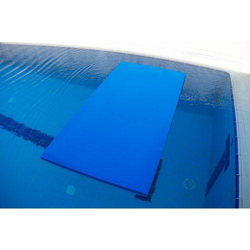 Tepih za plivanje 100x50x4,5 cm kvadratna plava ploča 1 komad, od EVA pjene