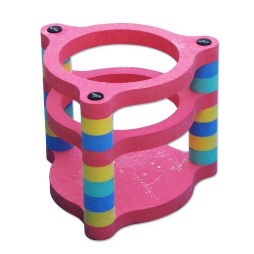 Plutajuća prstenasta košara za vodu 65x65 cm, od EVA pjene