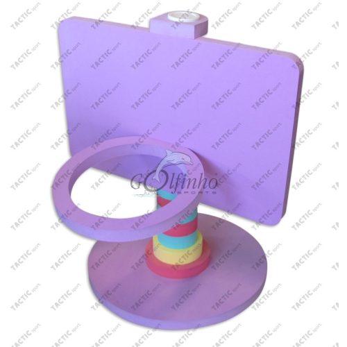 Vízi úszó Kosárgyűrű Palánkkal EVA hab anyagból 108x90x85 cm