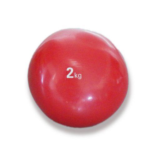 Tactic Sport medicinska lopta, soft dodir, težine 2 kg, mekana, gumena medicinska lopta