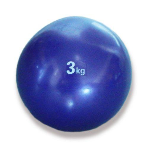 Tactic Sport medicinska lopta, soft dodir, težine 3 kg, mekana, gumena medicinska lopta