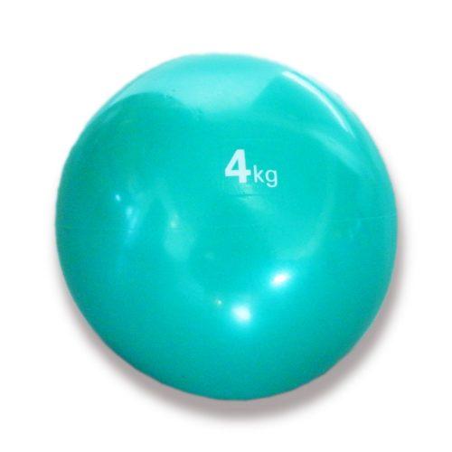 Tactic Sport medicinska lopta, soft dodir, težine 4 kg, mekana, gumena medicinska lopta
