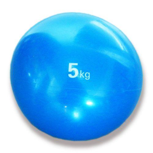 Tactic Sport medicinska lopta, soft dodir, težine 5 kg, mekana, gumena medicinska lopta