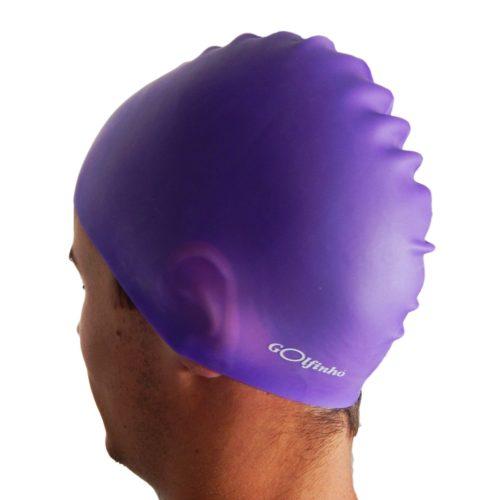 Silikonska kapa za plivanje – Ljubičasta – 50 gr., 100% silikon