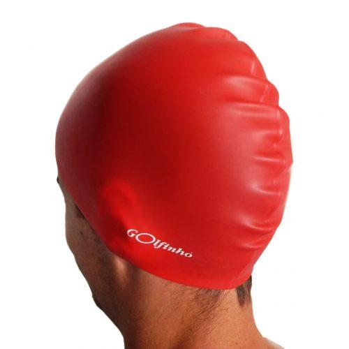 Silikonska kapa za plivanje –Crvena – 50 gr., 100% silikon