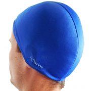 Poliesterska kapa za plivanje – Plava – elastični tekstil