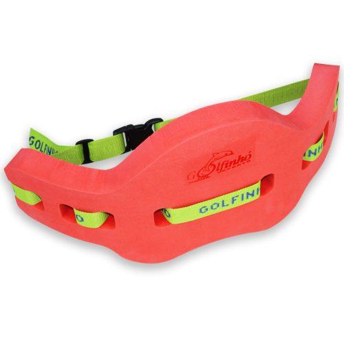 Aquafitness pojas za plivanje 68x32x4,5 cm pogodan i iznad 60 kg tjelesne težine, u živim bojama