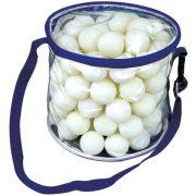 Garlando Meteor paket od 100 komada lopti za stolni tenis, za slobodno vrijeme i školske treninge