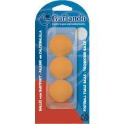 Garlando Standard 3 bijele upakirane loptice za stolni nogomet