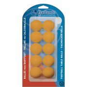 Garlando Standard 10 narančastih upakiranih loptica za stolni nogomet